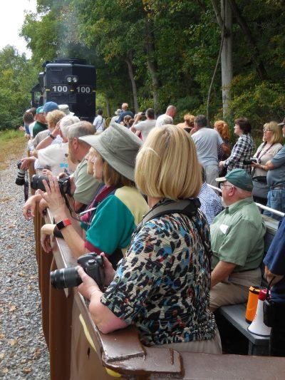 Potomac Eagle open air car