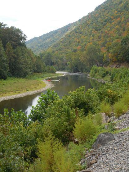 Potomac Eagle Trough view