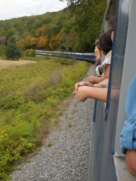 Potomac Eagle train